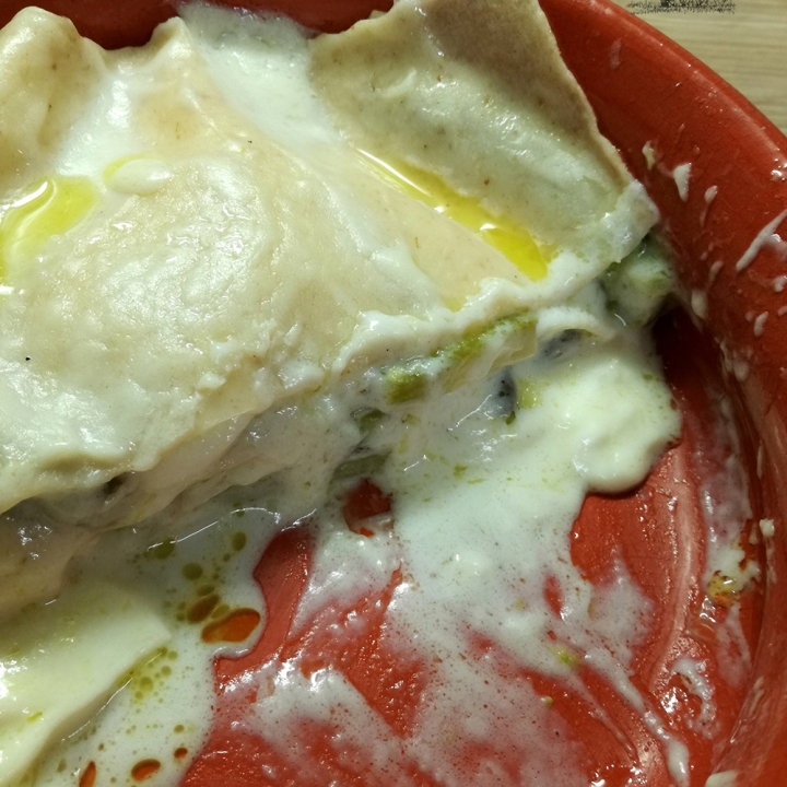 Hemgjord lasagna