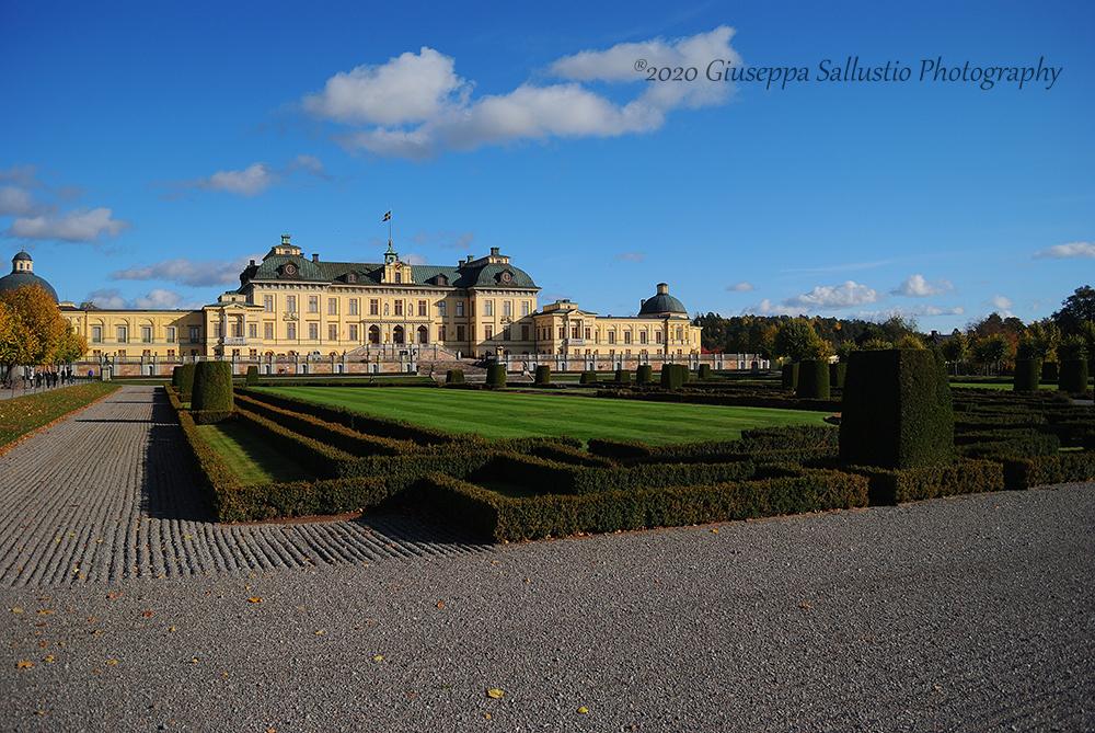 Besök av Drottningholms slottsträdgårdar