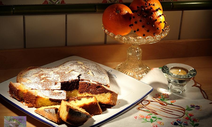 Advent första och choklad delikatess