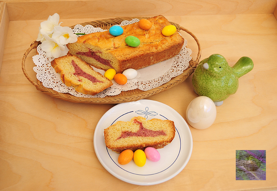 Almond bread: an old family recipe on Easter Monday